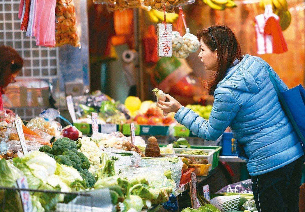 主計總處昨天公布二月消費者物價指數創十三個月新高,但官員說,台灣沒有通貨膨脹的疑...