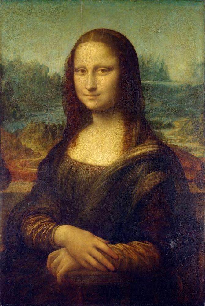 圖為達芬奇的「蒙娜麗莎的微笑」。圖/取自維基