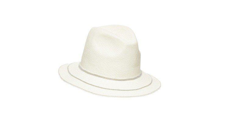帽沿3層鑽石線帽子,售價23,200元。圖/FABIANA FILIPPI提供