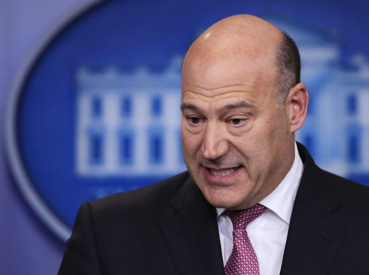 白宮首席經濟顧問柯恩辭職驚動市場。(圖/美聯社) 湯淑君