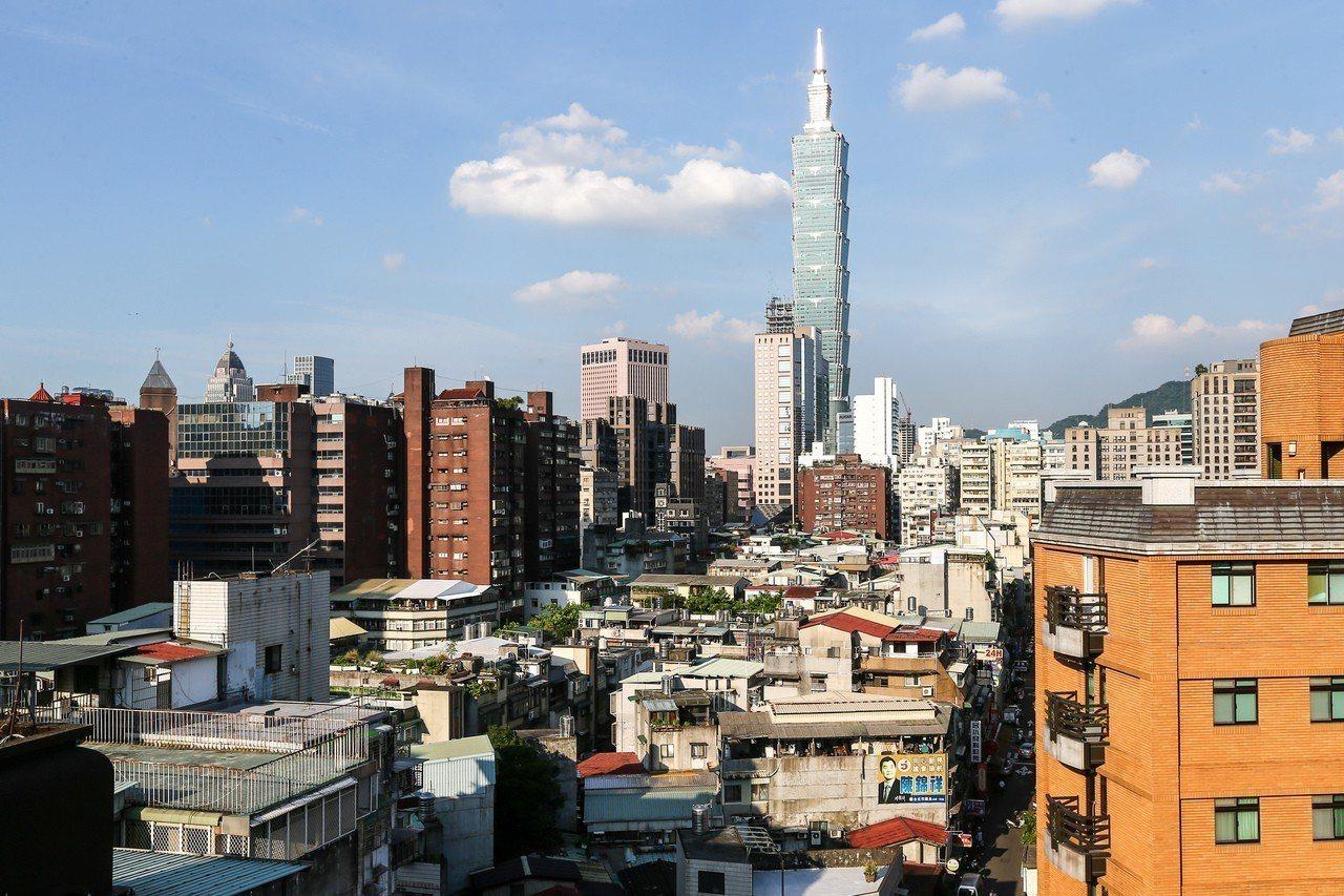 圖為台北市街景。圖/聯合報系資料照片