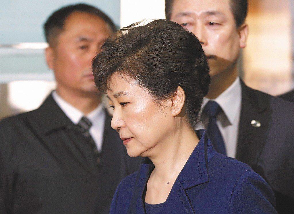 南韓前總統朴槿惠。 美聯社