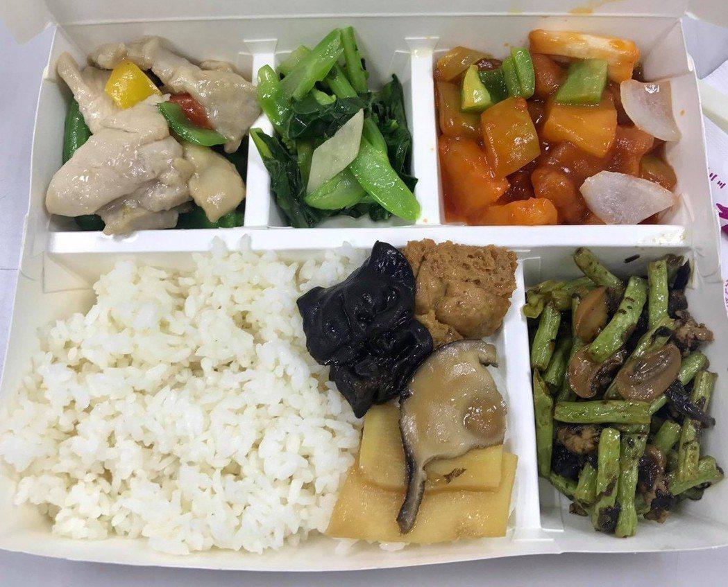 民眾到台北洽公,五菜便當要價250,但她吃完卻覺得很空虛。圖/翻攝自爆廢公社