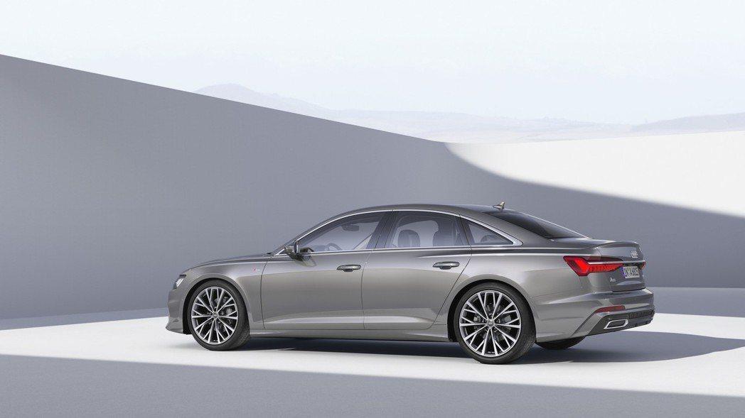 首批 A6 Sedan 將推出 3.0升的TFSI 汽油與 TDI 柴油車型, ...