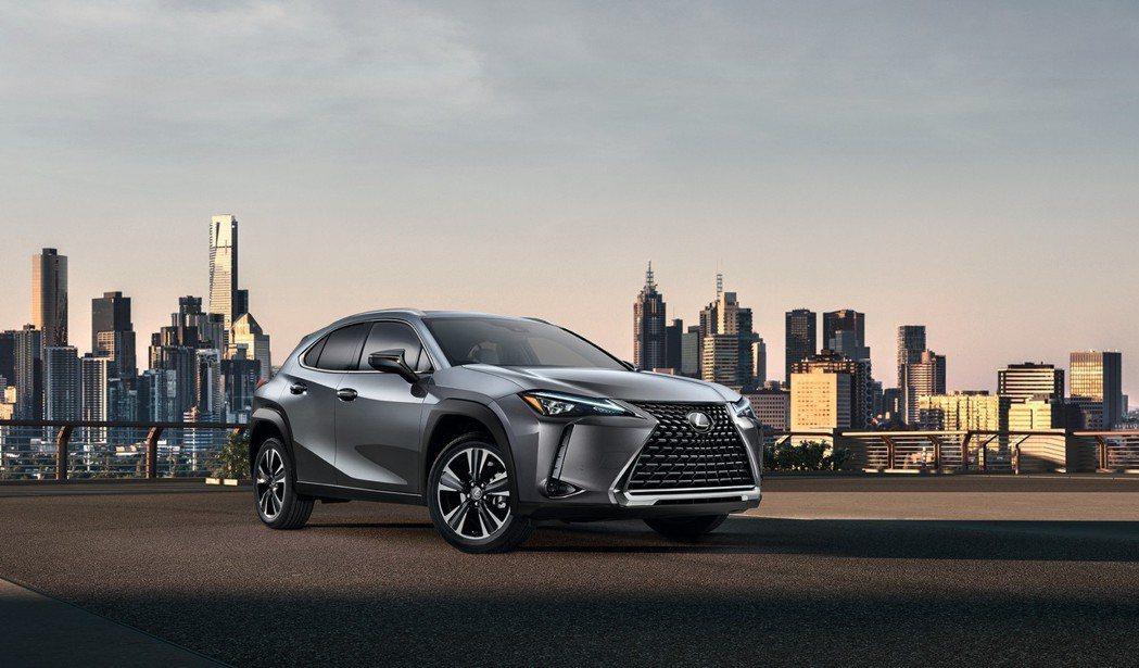 全新Lexus UX已於日內瓦車展上發表。 摘自Lexus