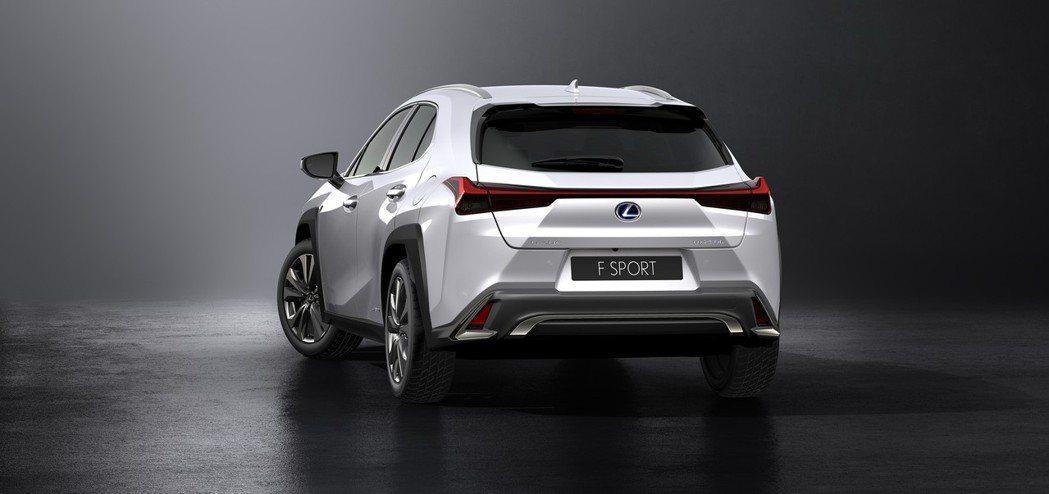 圖為搭配F-Sport套件的UX250h。 摘自Lexus