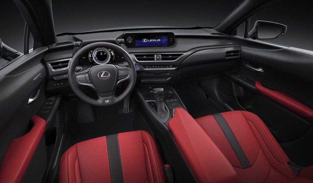 搭配F-Sport套件後的車室。 摘自Lexus