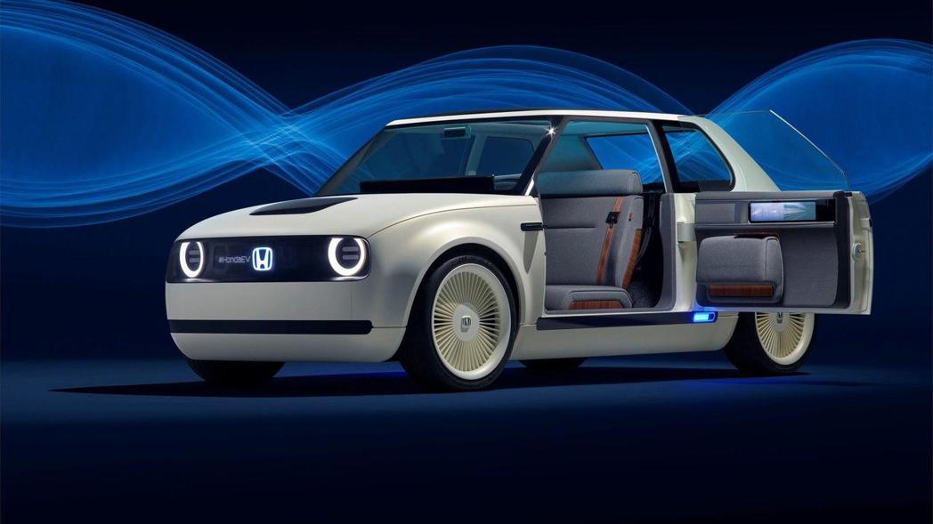 圖為Honda Urban EV Concept。 摘自Honda
