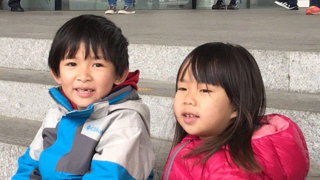 孩子是素人媽媽參選的最大動力。 記者陳秋雲/攝影