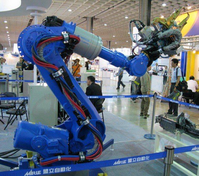 因應智慧機械時代來臨,智慧製造必須採用智慧機械加智慧機器人,才能達到自動化生產的...