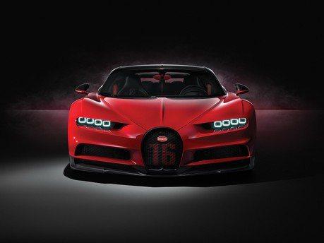輕量化Bugatti Chiron Sport操控更佳 連雨刷臂都是碳纖維的!