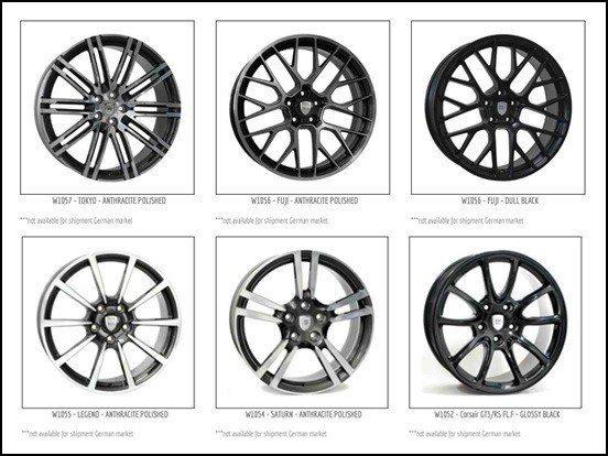 圖4:Acacia的WSP Italy品牌適用Porsche汽車的輪圈