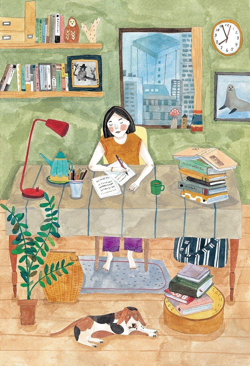 Soupy筆下的芭娜娜。由於日本有很多跟蹤狂,為了保護隱私,芭娜娜曾表示希望插畫...