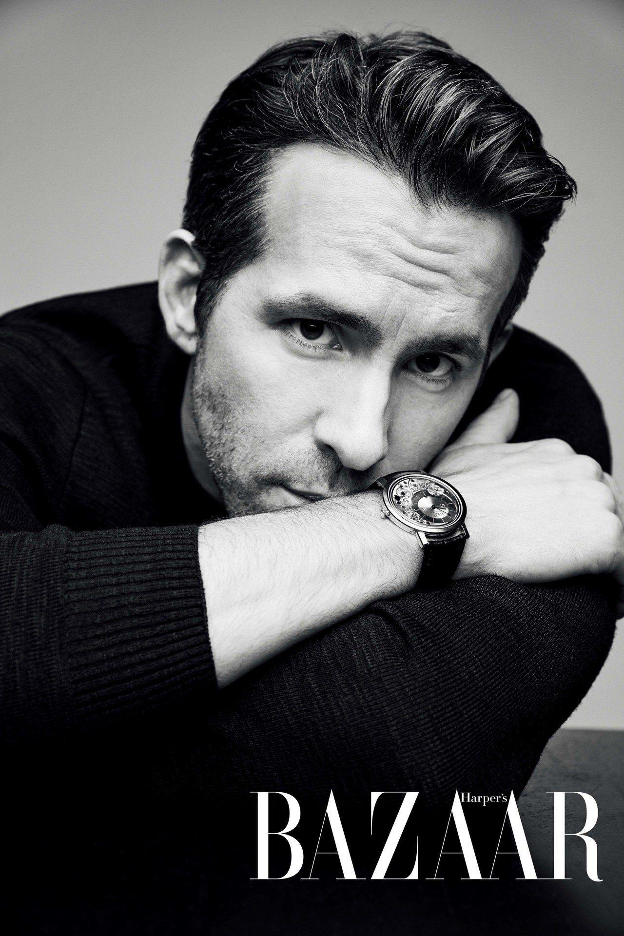 針織衫,Dunhill;腕錶,Piaget