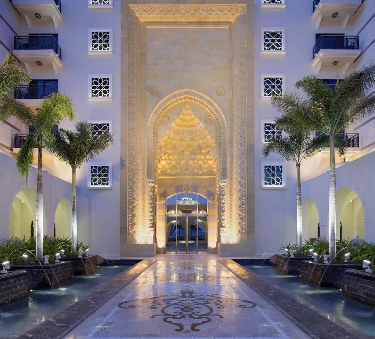 斯布爾宮酒店以鄂圖曼土耳其帝國時代的皇家宮殿為設計基礎。圖/杜拜卓美亞棕櫚島斯布...