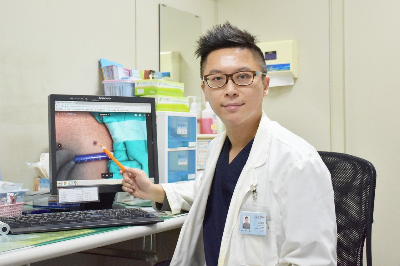 澄清醫院中港院區皮膚外科主任梁仲斌醫師指出,基底細胞癌通常單顆出現,若病灶是帶有...