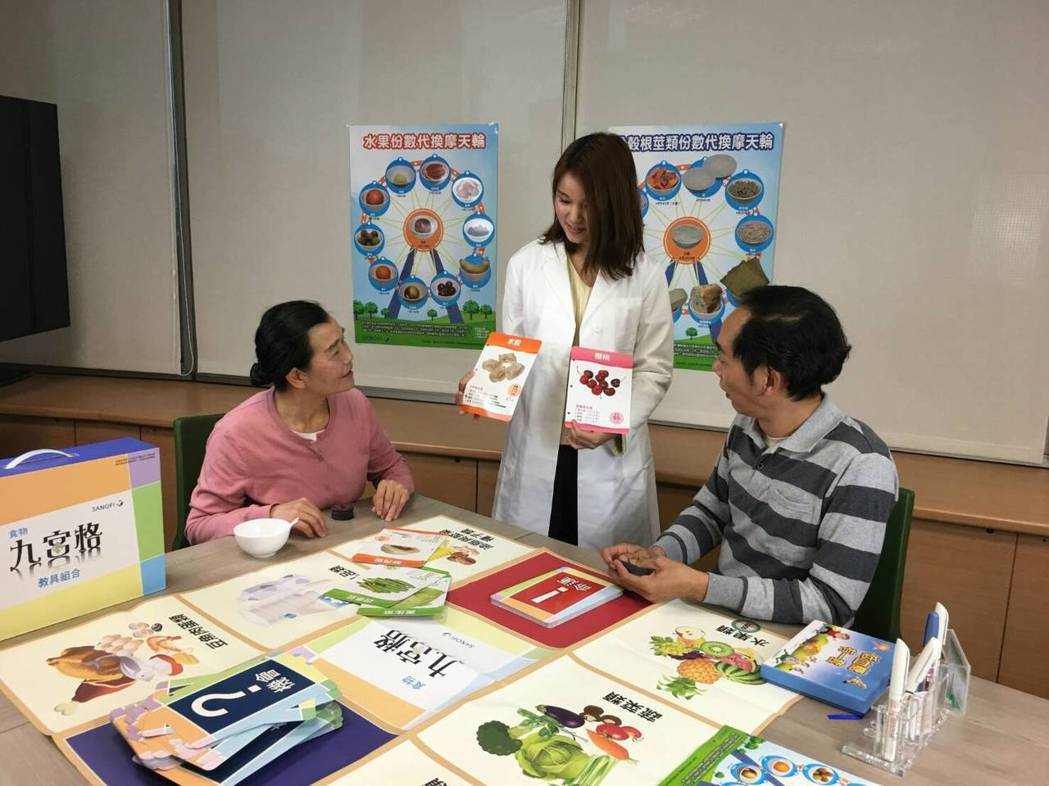 為了協助糖友正確飲食,糖尿病衛教學會、賽諾菲藥廠攜手開發出首套台灣本土化『食物九...