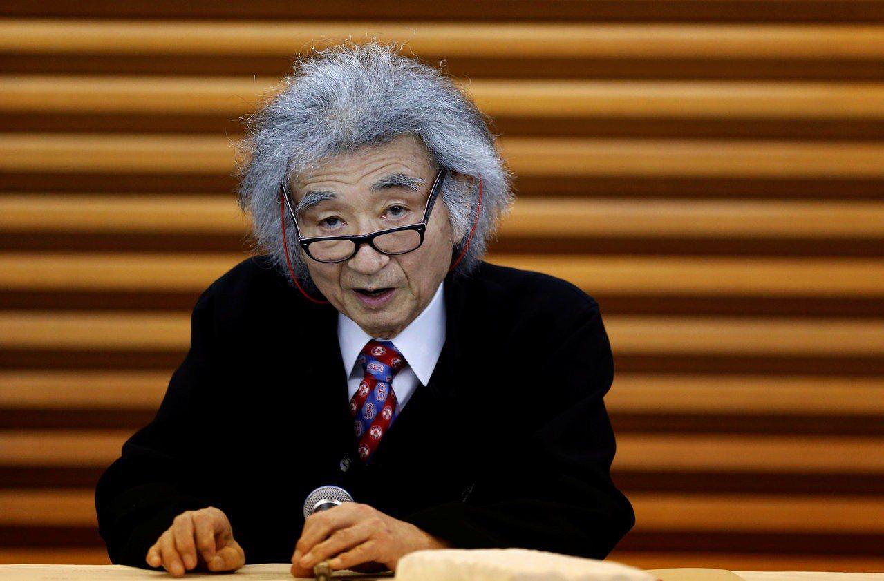 日本知名指揮家小澤征爾。路透