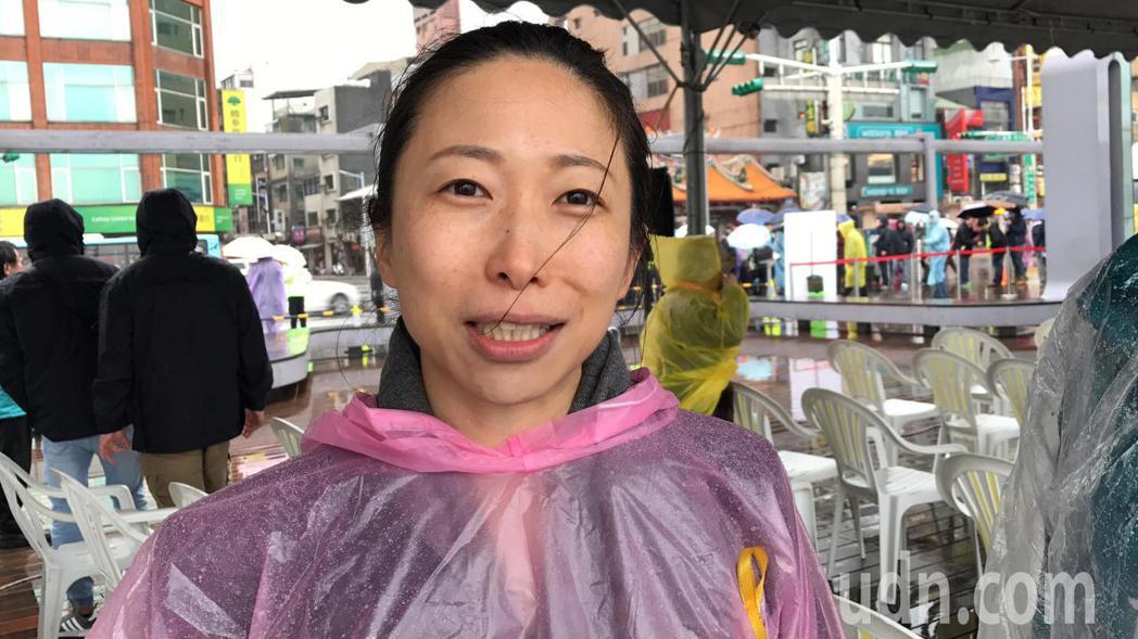顏欽賢孫女一青妙,今天第一次來基隆參加二二八追思會,她說,周醫師曾提過家人和二二...