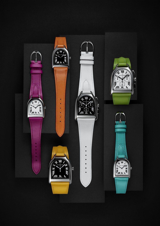 Ralph Lauren Stirrup 不鏽鋼腕表,以馬蹄的造型為表殼,辨識度...