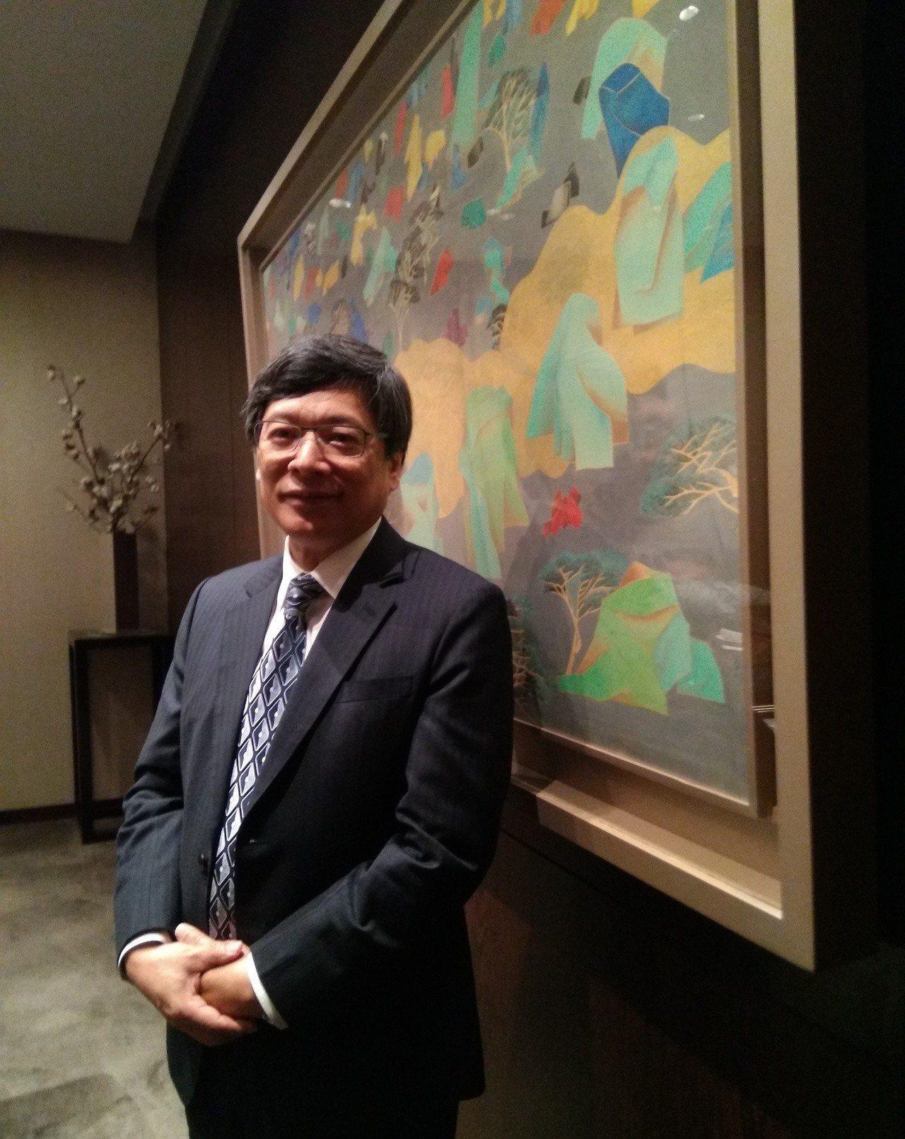 黑松(1234)董事長張斌堂。記者何秀玲/攝影