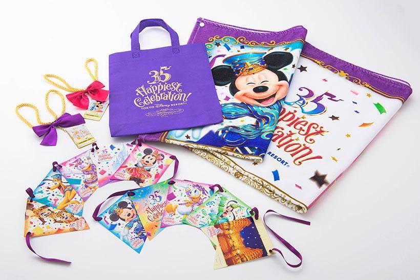 東京迪士尼35周年限定商品繽紛上市。圖/翻攝自東京迪士尼官方粉絲團