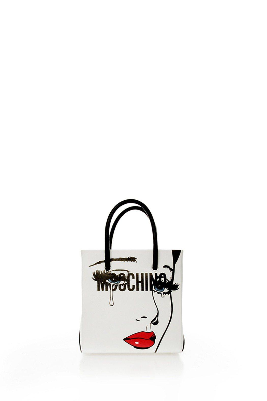 「MOSCHINO EYES」系列包款,49,500元。圖/MOSCHINO提供