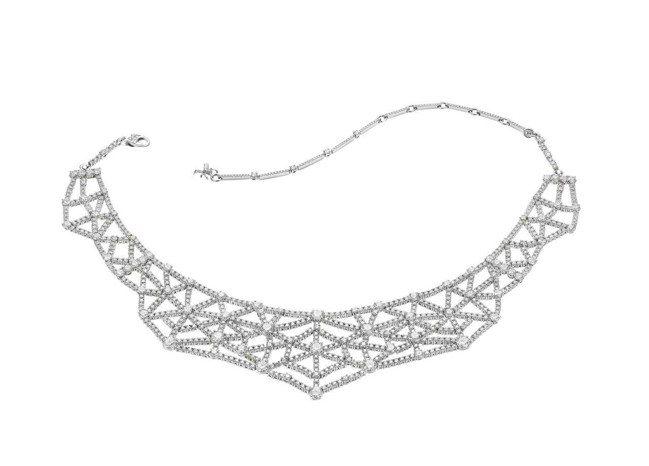 BVLGARI FESTA 義式慶典系列 Tarantella頂級鑽石項鍊,鉑金...