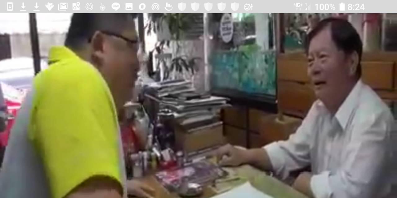 大安警分局長周煥興親自燉中藥雞湯、寫卡片,邀請中醫師吳明珠演講,慶祝婦女節。記者...