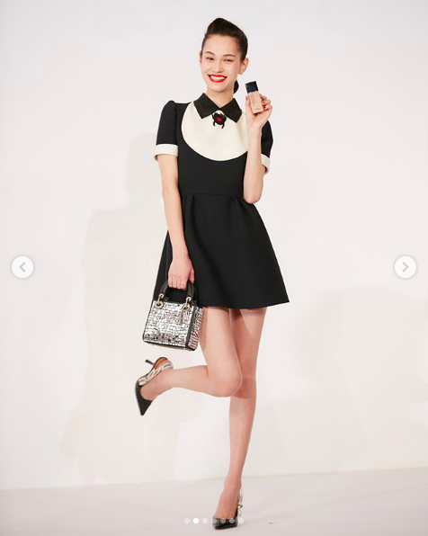 水原希子成為Dior Beauty亞洲區第一位彩妝大使。圖/摘自IG:i_am_...