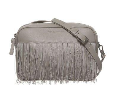 真皮鑽線流蘇側背包,售價30,800元。圖/FABIANA FILIPPI提供