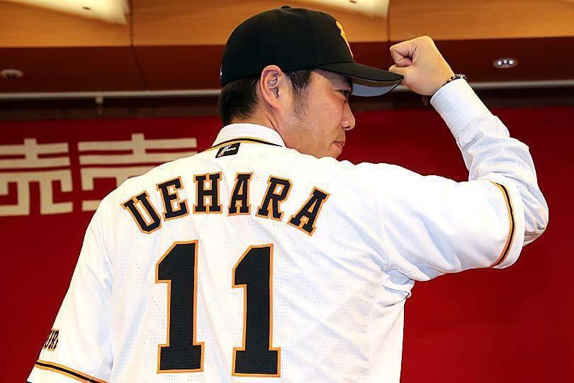 穿上11號球衣,上原浩治相隔10年後重返日職老東家巨人隊。 截圖自讀賣巨人台灣官...