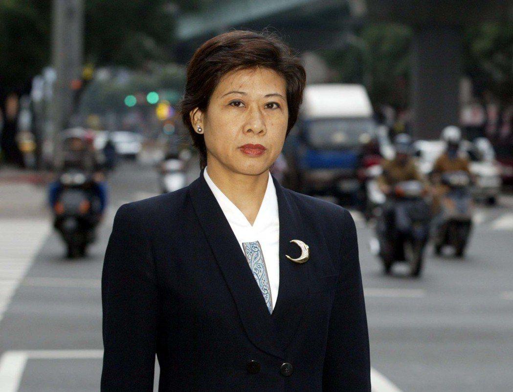 尹清楓遺孀李美葵。 圖/聯合報系資料照片