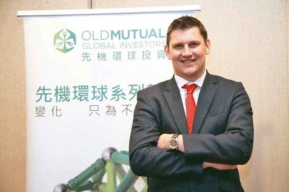 先機環球投資固定收益投資董事麥高益(Michael Sullivan)日前來台舉...