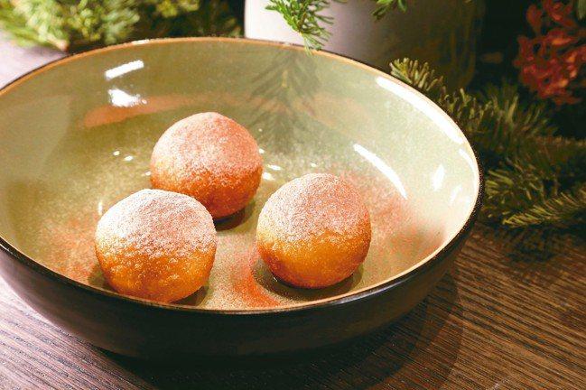 鴨肝甜甜圈。 圖/陳立凱攝影