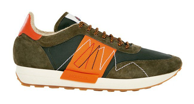Horace撞色刺繡休閒鞋,售價20,200元。 圖/各業者提供