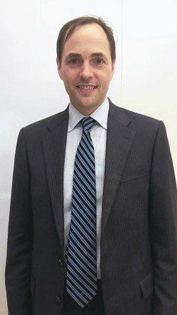 聯博新興市場多元資產團隊投資組合經理人哈汀。 張瀞文/攝影
