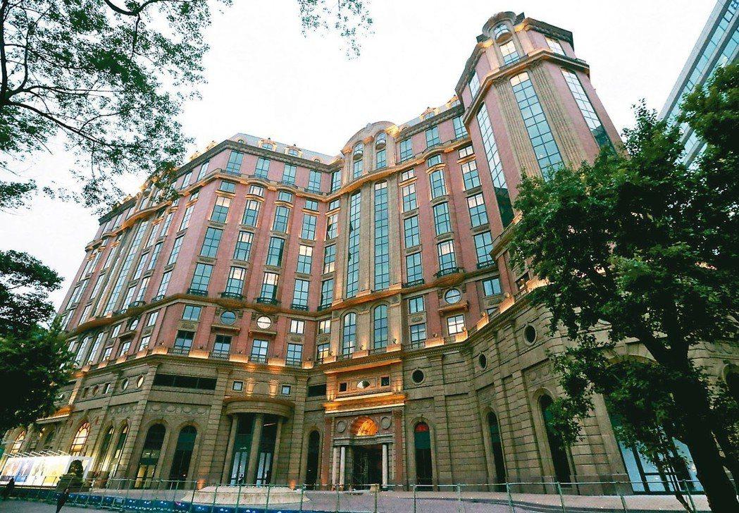 台北新建飯店持有稅高,大幅影響旅館營收。圖為東方文華酒店。 圖/聯合報系資料照