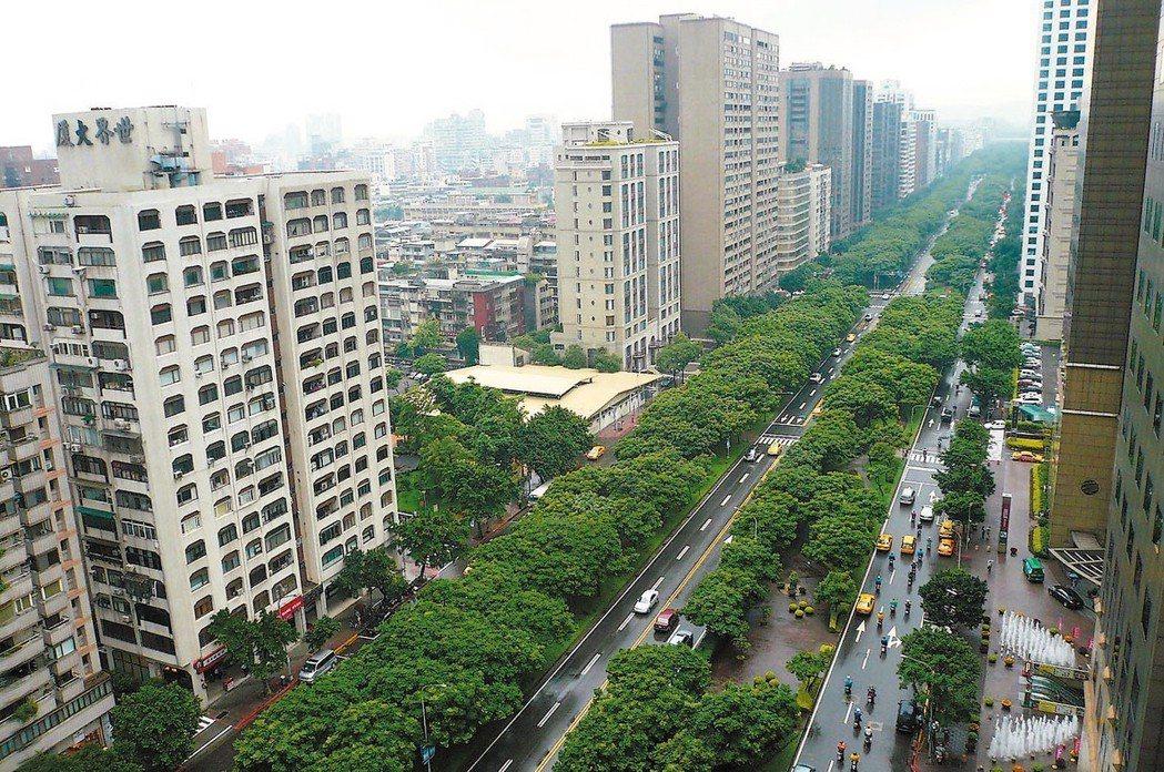 去年下半年房市復甦不如預期,不少投資客前進台北市大安區,持有不到一年就轉手。 圖...