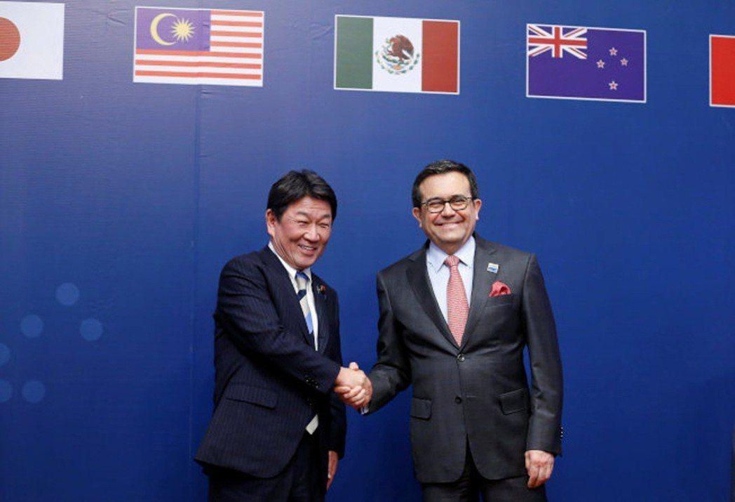 11個亞太國家今天簽署瘦身版的跨太平洋夥伴協定(TPP),名為跨太平洋夥伴全面進...