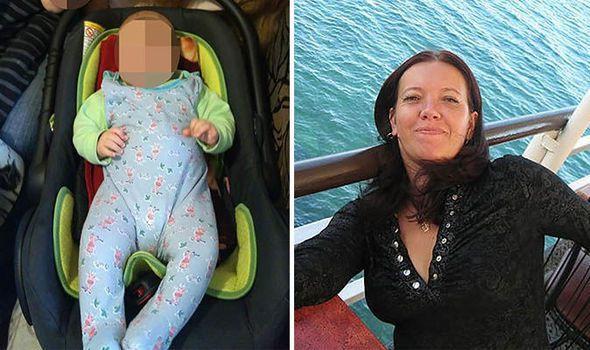 一名母親與六個月大的兒子,相繼遭到電梯夾死。圖/翻攝自EXPRESS