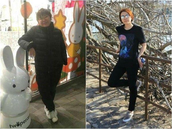 孫儷經紀人吃了特製菜單狂瘦37公斤。取自微博