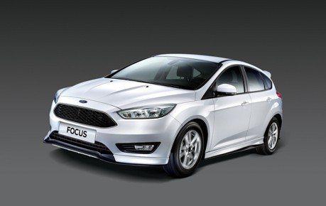 New Ford Focus黑潮特仕版、型動勁速版 酷勁加身