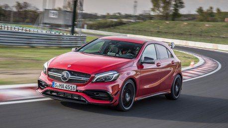 新Mercedes-AMG A45大進化!甩尾模式+8速雙離合器變速箱!