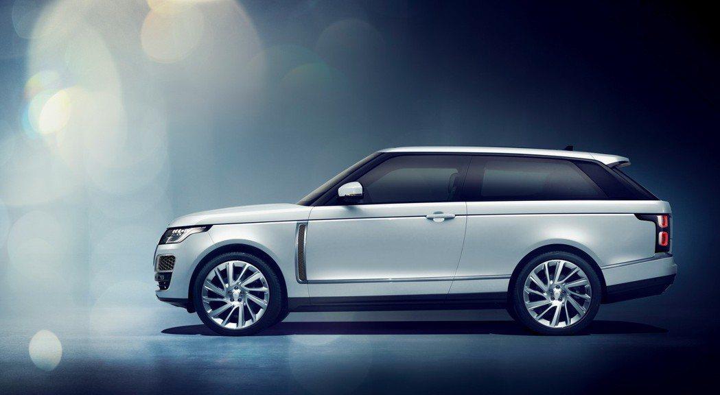 Range Rover SV Coupe車型既豪氣又奢華。 摘自Land Rover