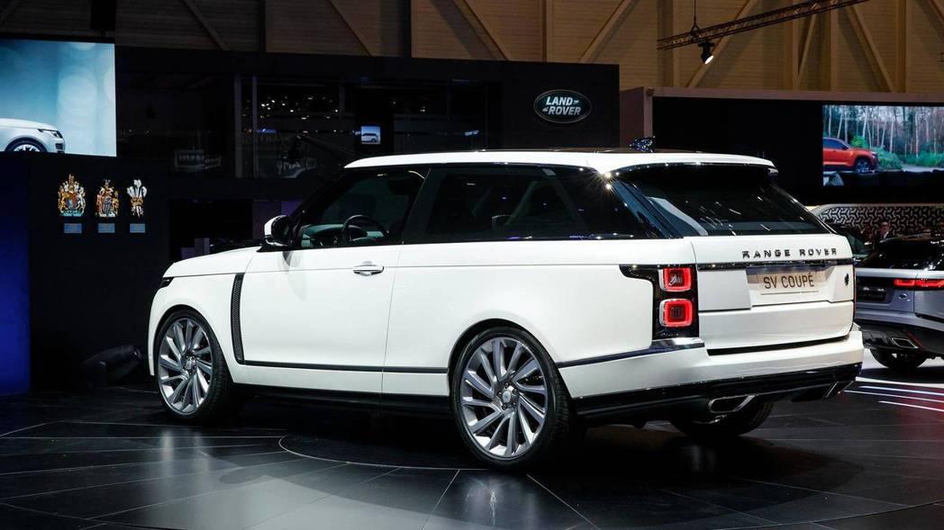 圖為Range Rover SV Coupe。 摘自Motor 1