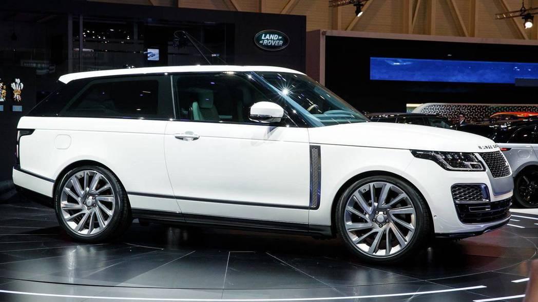 Range Rover SV Coupe要價不斐。 摘自Motor 1