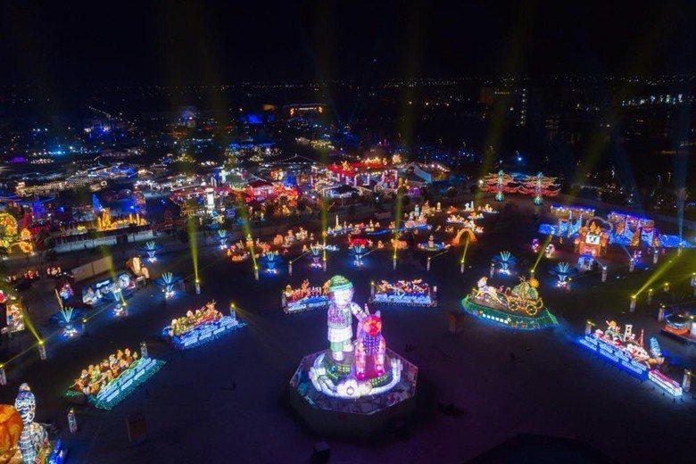 2018年燈會,日本「精靈寶可夢」引領了嘉義台灣燈會與台北燈節風騷。 圖/聯合報...
