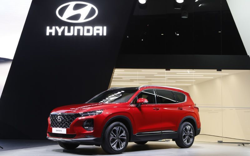 圖為全新Santa Fe。 摘自Hyundai