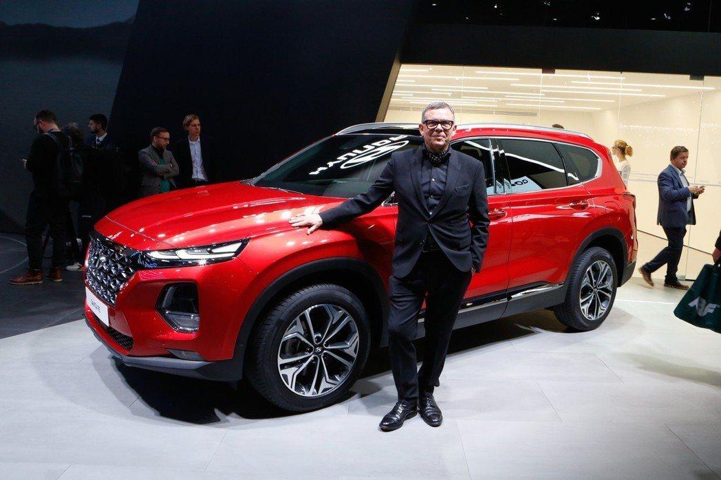 全新世代Santa Fe明年將有油電車型? 摘自Hyundai